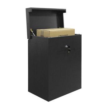Topbox-XL met brievenbusklep Stardust Graphitgrey voor grote pakketten