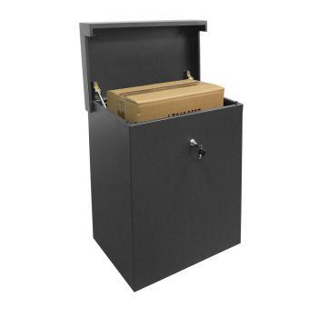 handige pakketbox met drukslot