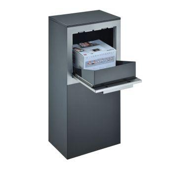 Logixbox vrijstaande pakketbrievenbus Designbox
