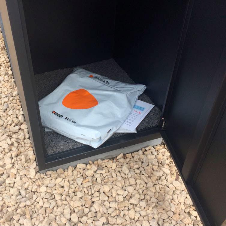 Pakketbrievenbus Frontbox